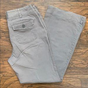 Women's New York & Company Gray Cotton Slacks